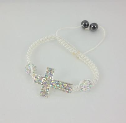 Greek easter candles greek easter gift greek godchild gift white cross bracelet negle Gallery